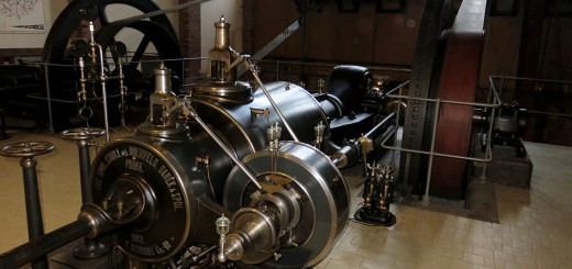 Altes Klärwerk von Prag - Dampfmaschine
