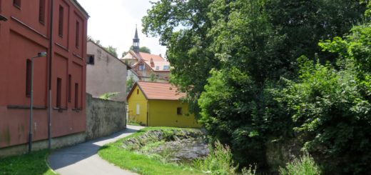 Botič in Hostivář, Prag