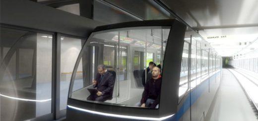 Prag Metro Linie D, Wagen