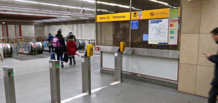 U-Bahn, Metro in Prag