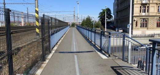 Fahrradweg am Vítkov