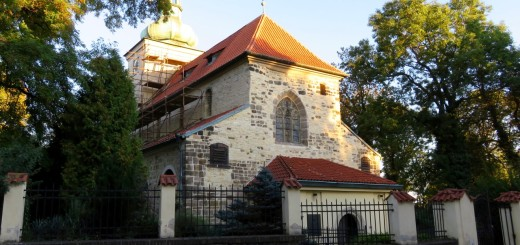 Die Kirche des Hl. Wenzel in Prosek