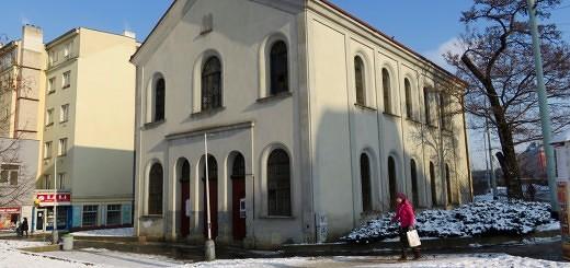 Neue Synagoge in Prag - Synagoga na Palmovce