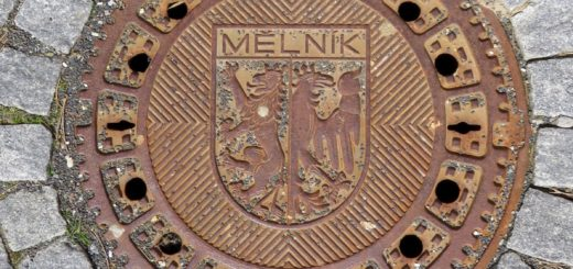 Kanaldeckel in Mělník