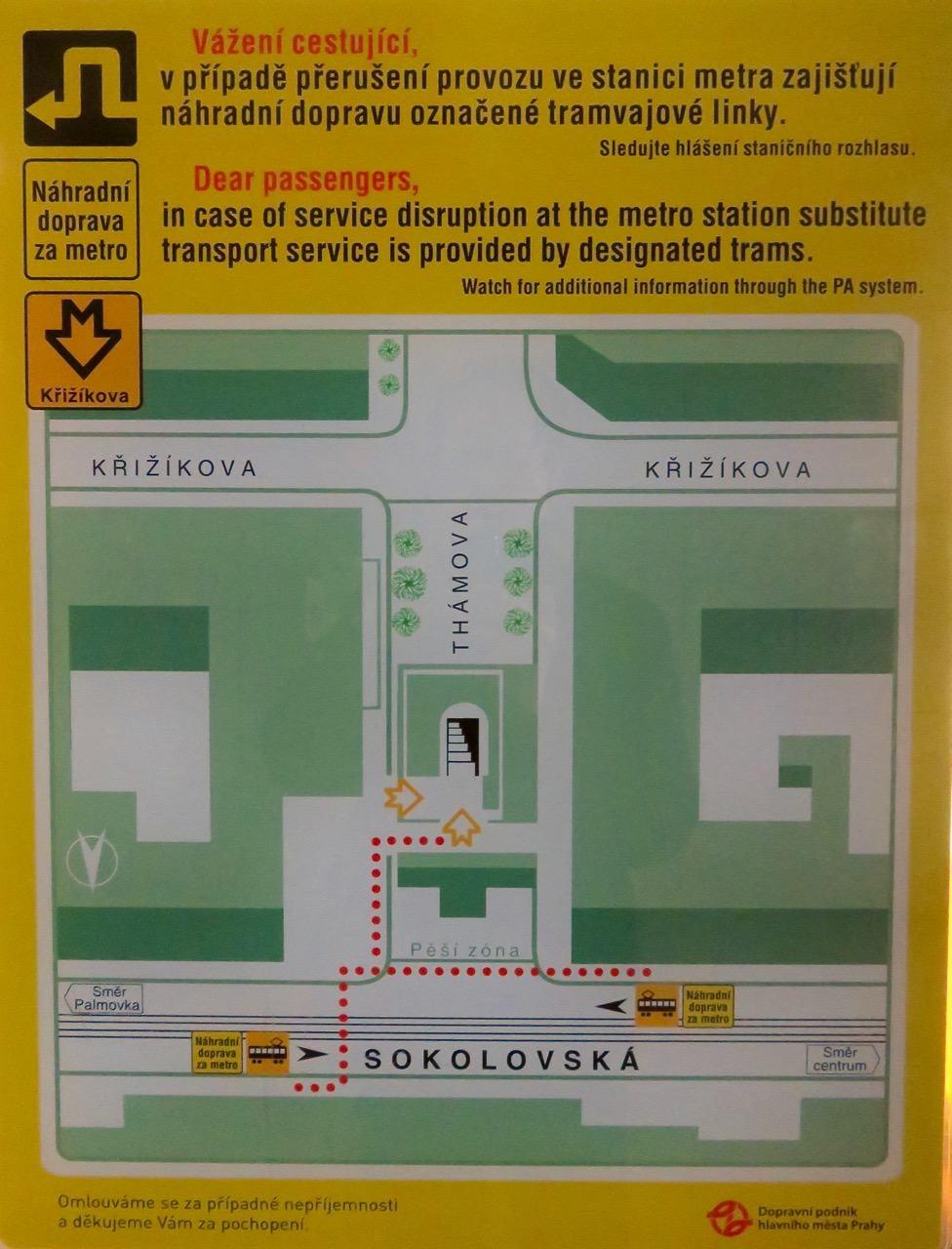 Metro Prag Karte.Bedienungsanleitung Für Die Prager Metro Unterwegs In Tschechien