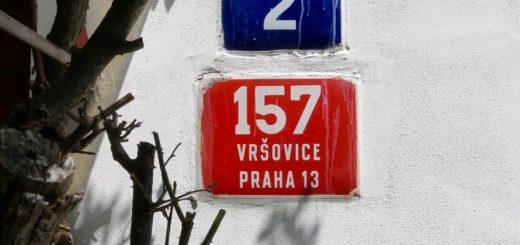 Vršovice, Hausnummern