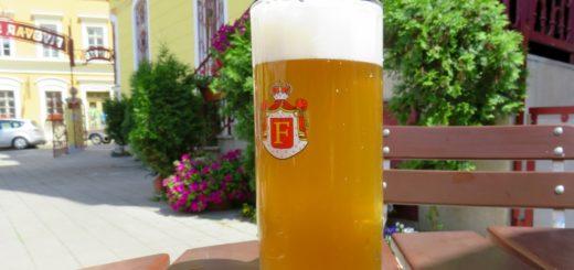 Brauerei Sankt Florian (Svatý Florian) in Loket (Elbogen)