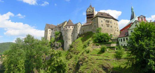 Burg in Loket (Elbogen)