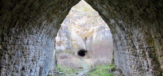 früherer Tunnel der Schmalspurbahn