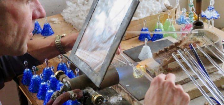 Jablonec-Gablonz - Kunsthandwerker mit Glas
