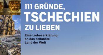 """Cover des Buches """"111 Gründe, Tschechien zu lieben"""""""
