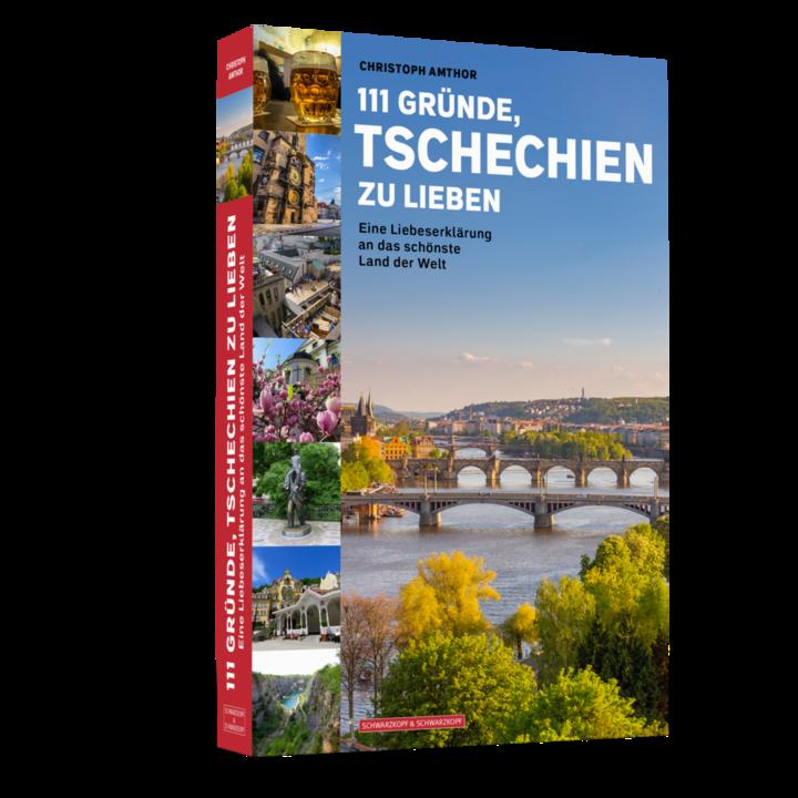 Einband des Tschechien-Buches